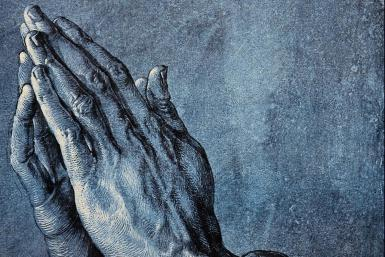 "Praying Hands. Artist: Albrecht Dürer. Dimensions: 0' 11"" x 0' 7"". Created: 1508. Media: Ink, Paper"